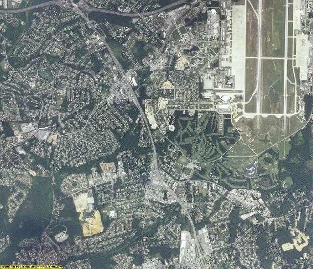 Prince George's County, Maryland aerial photography