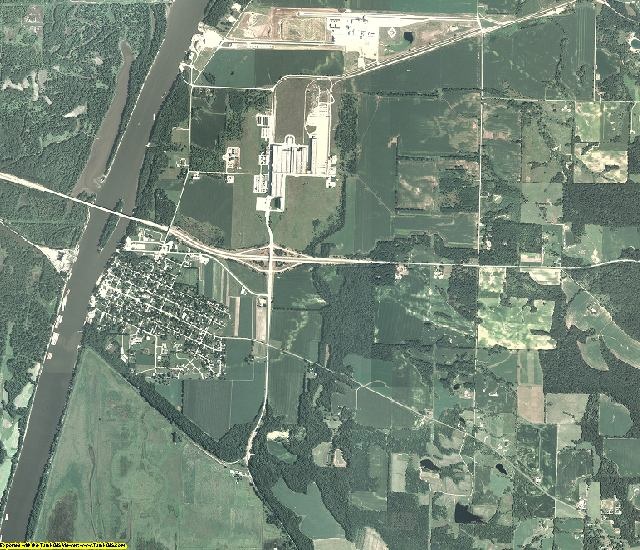 Putnam County, Illinois aerial photography