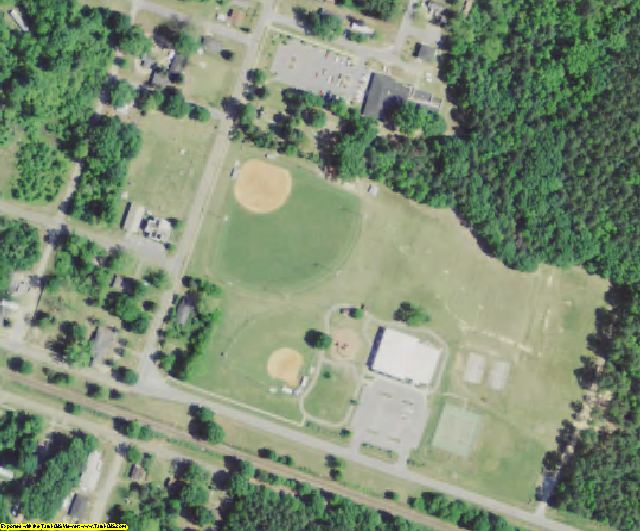 Richland County, SC aerial photography detail