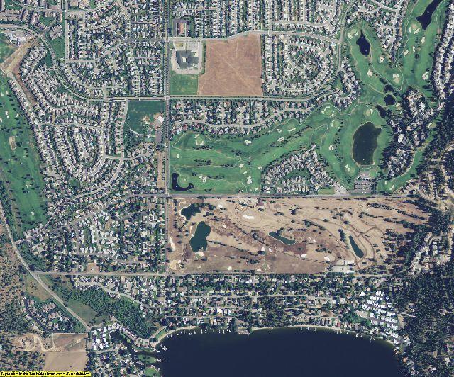 Spokane County, WA aerial photography detail