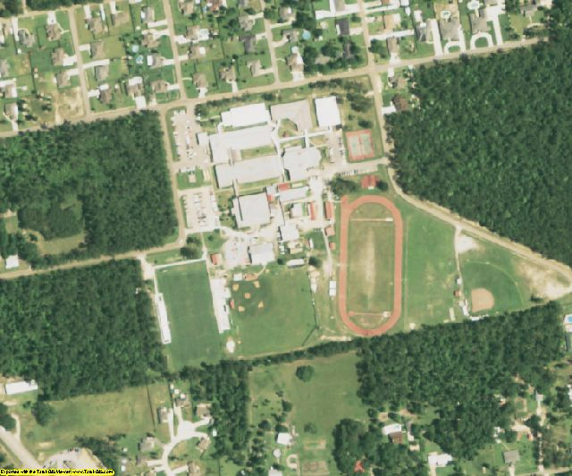 St. Tammany County, LA aerial photography detail