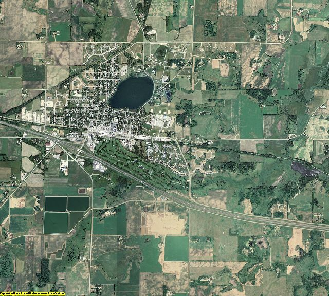 Stearns County, Minnesota aerial photography
