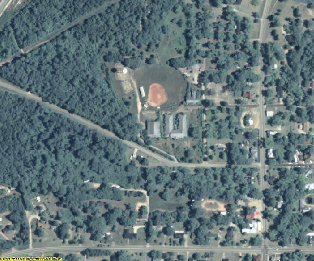 Stewart County, GA aerial photography detail
