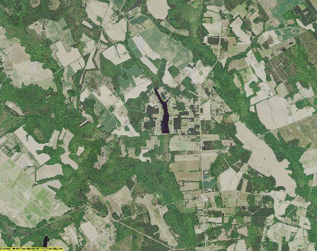 Sumter County, South Carolina aerial photography