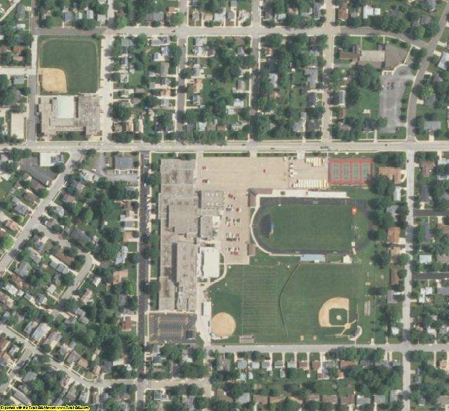 Tazewell County, IL aerial photography detail