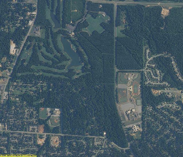 Tuscaloosa County, AL aerial photography detail