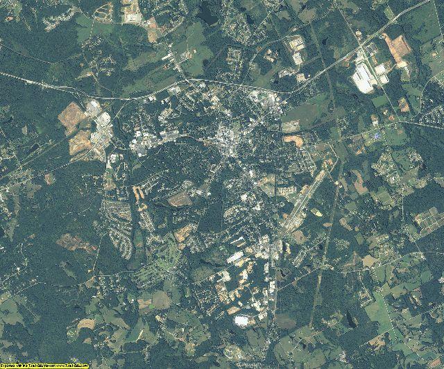 Walton County, Georgia aerial photography