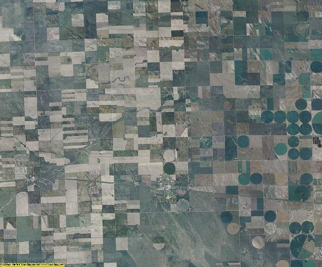 Washington County, Colorado aerial photography