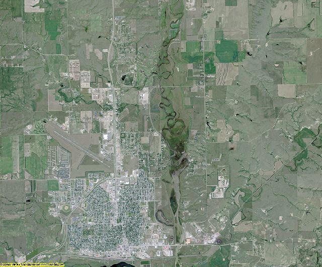 Williams County, North Dakota aerial photography