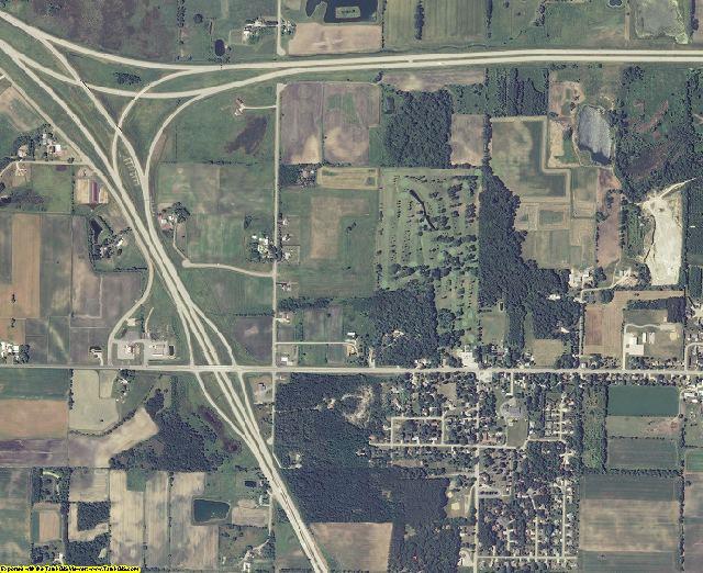 Winnebago County, Wisconsin aerial photography