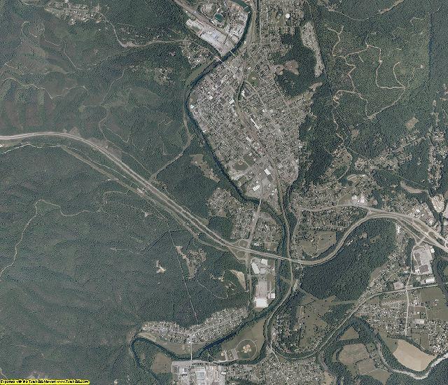 Alleghany County, Virginia aerial photography