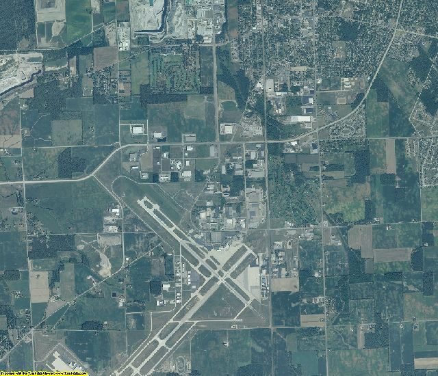 Allen County, Indiana aerial photography