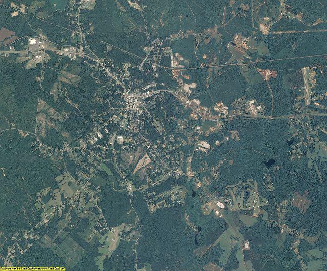 Anson County, North Carolina aerial photography