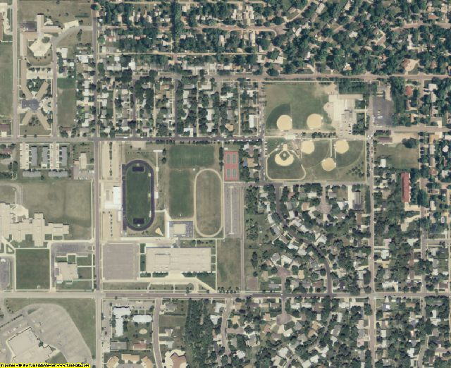 SD aerial photography detail