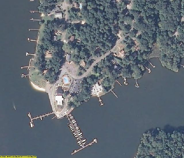 Calvert County, MD aerial photography detail