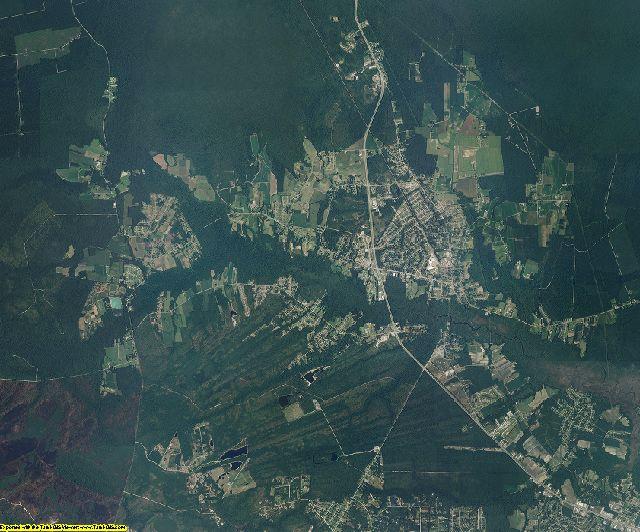 Carteret County, North Carolina aerial photography