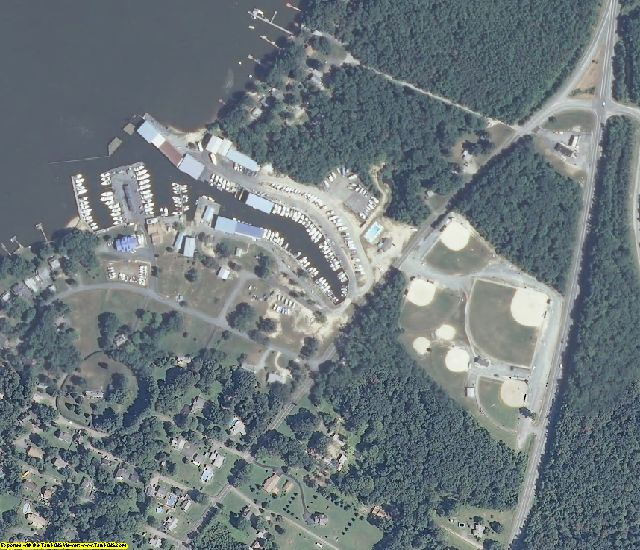 Cecil County, MD aerial photography detail