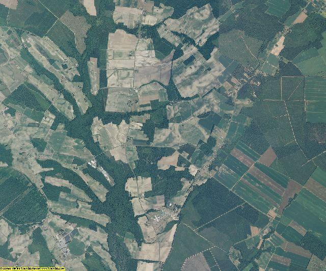 Chowan County, North Carolina aerial photography