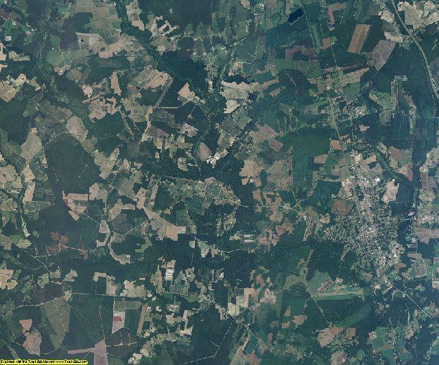 Duplin County, North Carolina aerial photography