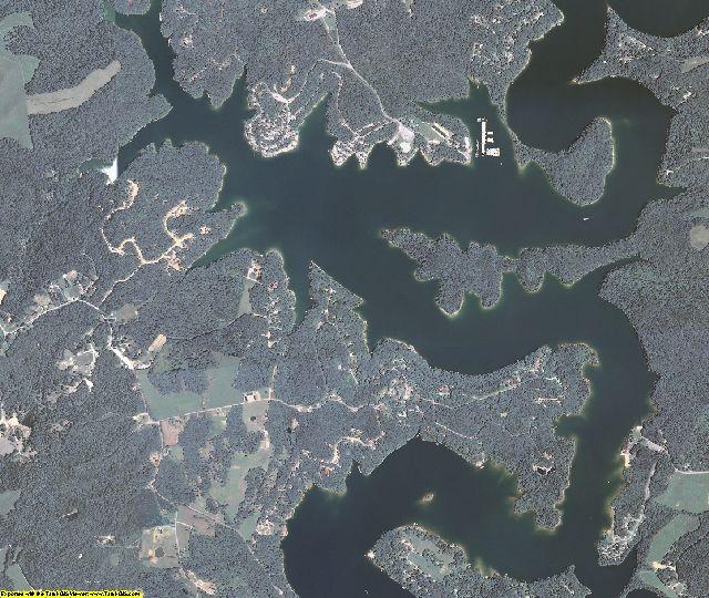 Edmonson County, Kentucky aerial photography