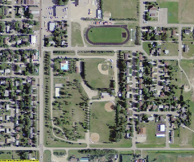ND aerial photography detail