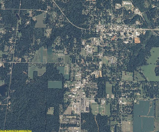 George County, Mississippi aerial photography