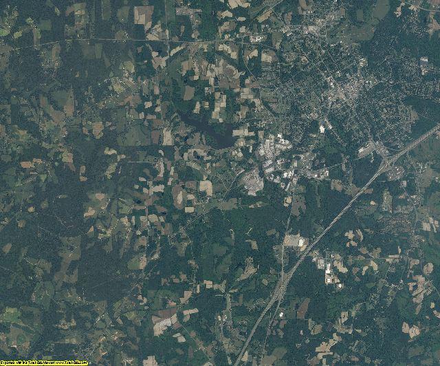 Granville County, North Carolina aerial photography