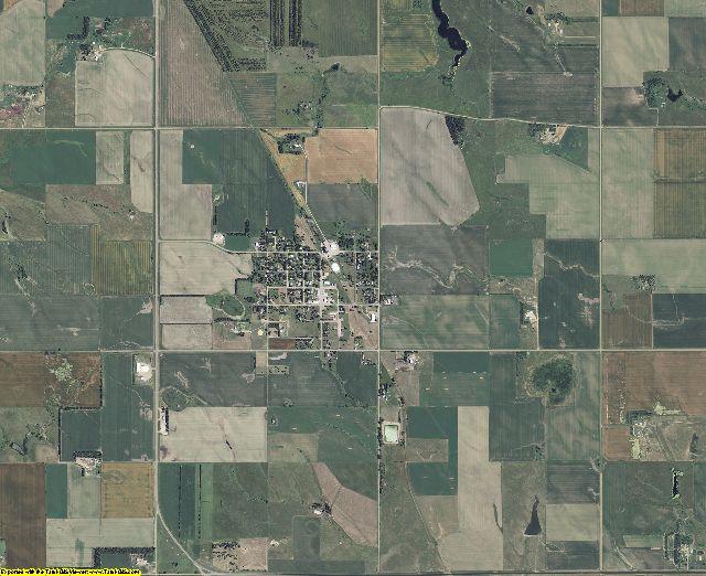 Gregory County, South Dakota aerial photography