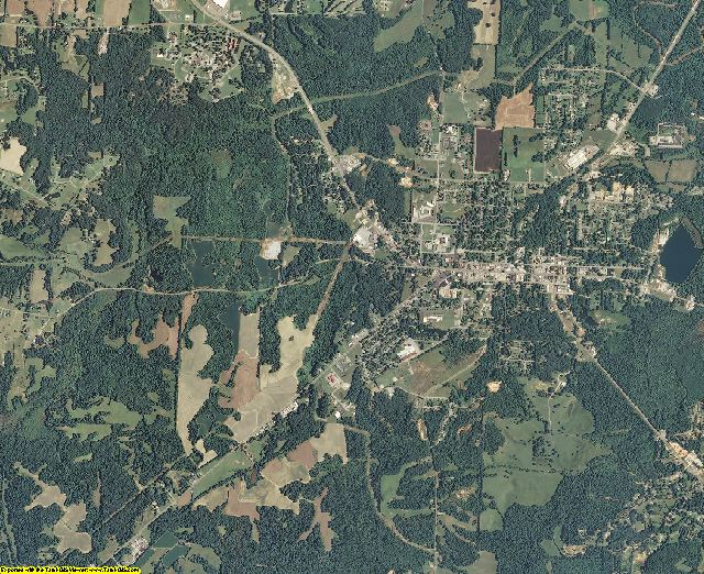 Hardeman County, Tennessee aerial photography