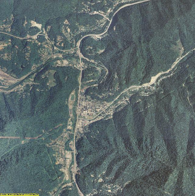 Harlan County, Kentucky aerial photography