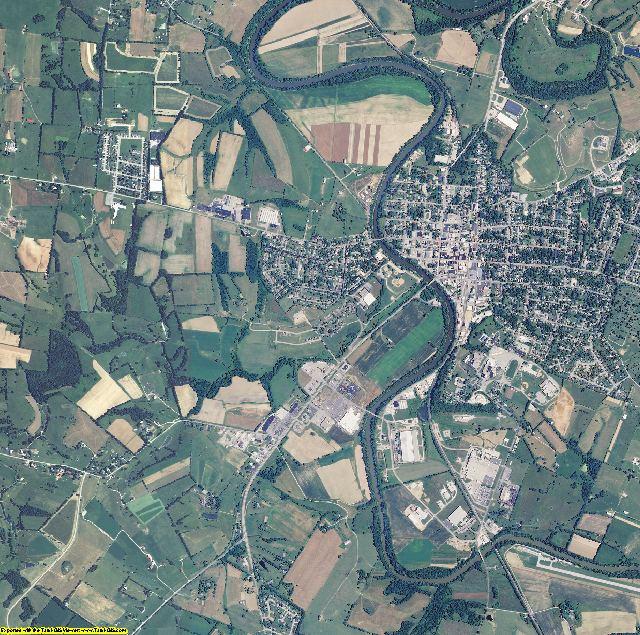 Harrison County, Kentucky aerial photography