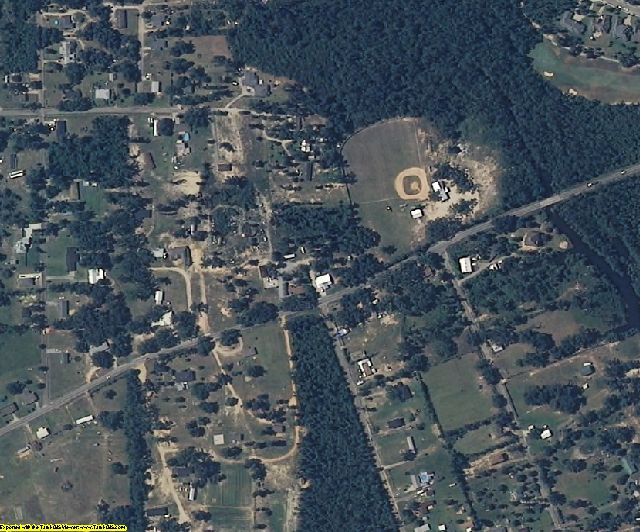 Harrison County, MS aerial photography detail