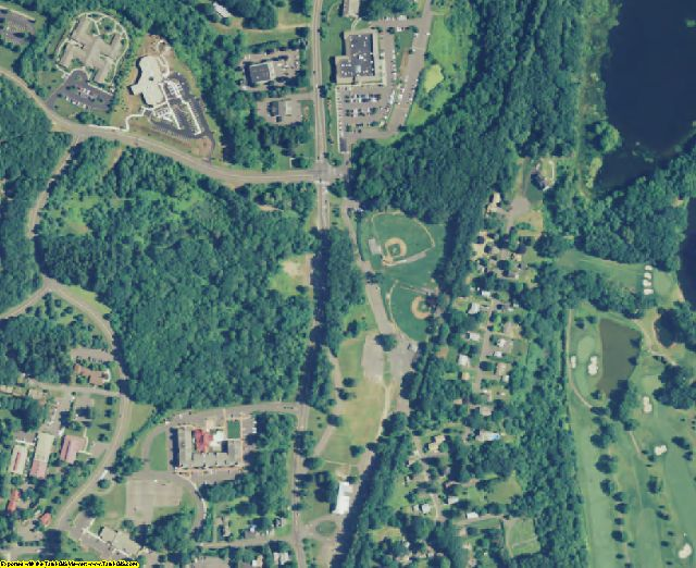 Hartford County, CT aerial photography detail