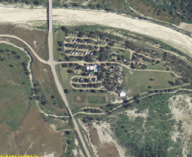 Jackson County, SD aerial photography detail