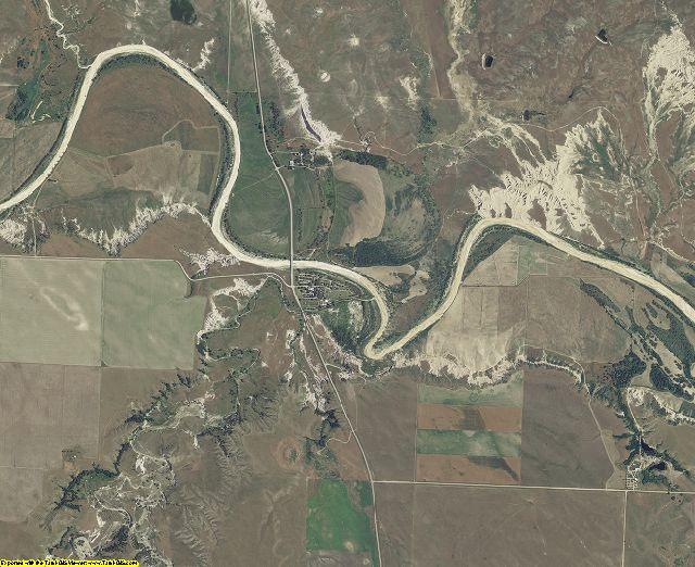 Jackson County, South Dakota aerial photography