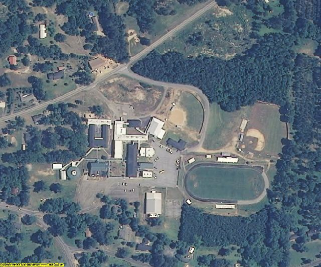 Jasper County, MS aerial photography detail