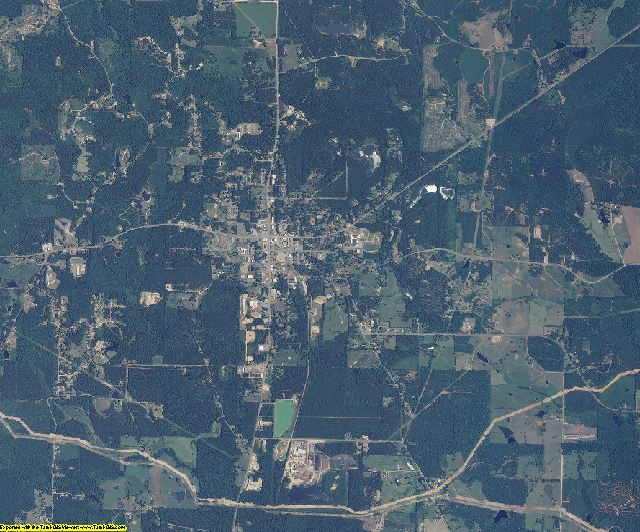 Jasper County, Mississippi aerial photography
