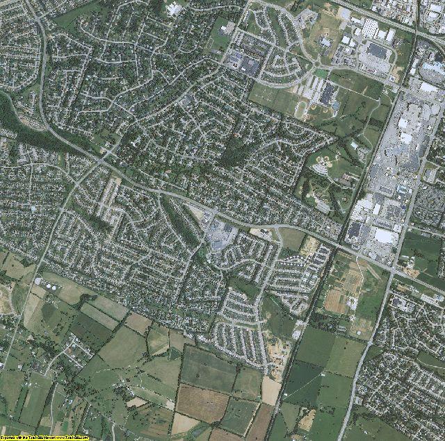 Jessamine County, Kentucky aerial photography