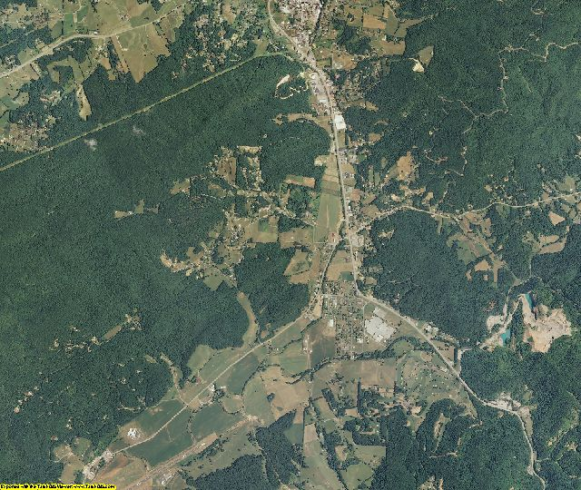 Johnson County, Tennessee aerial photography