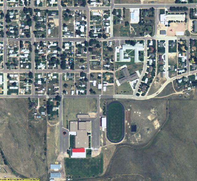 Kimball County, NE aerial photography detail