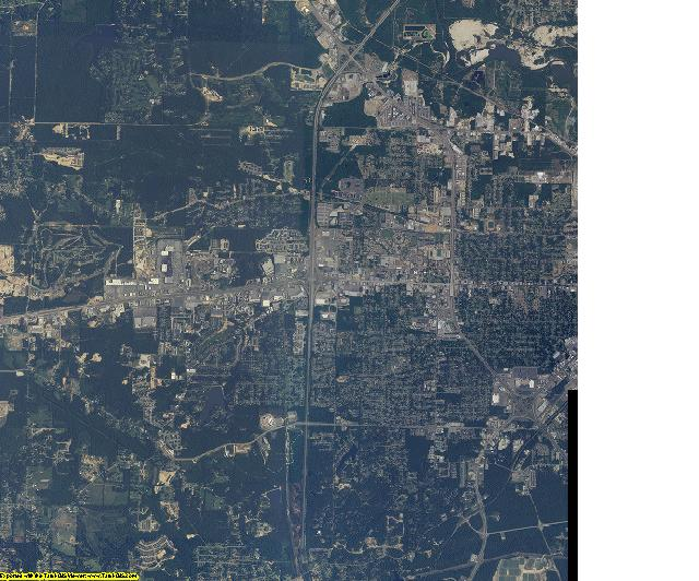 Lamar County, Mississippi aerial photography