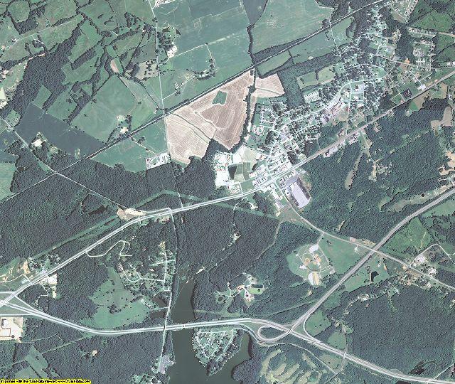 Lyon County, Kentucky aerial photography