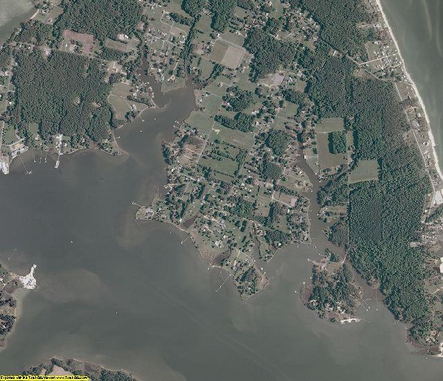 Mathews County, Virginia aerial photography