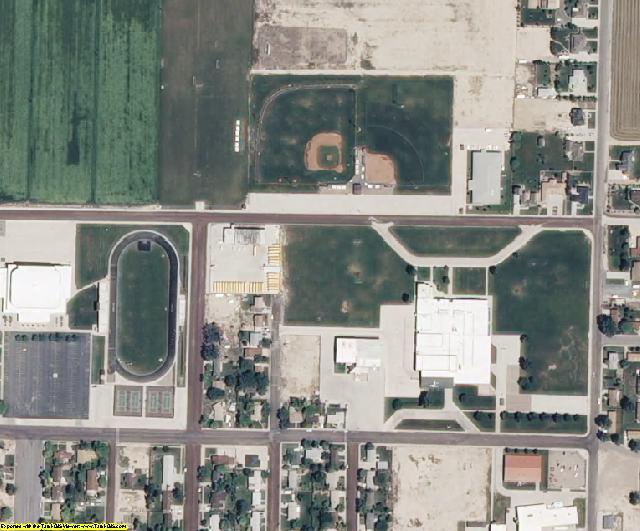 Millard County, UT aerial photography detail