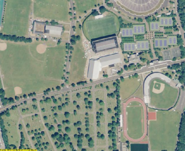 CT aerial photography detail