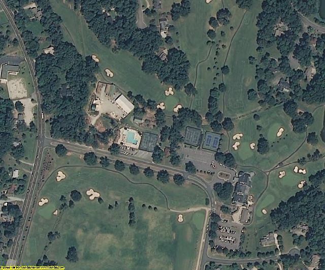 Orange County, NC aerial photography detail