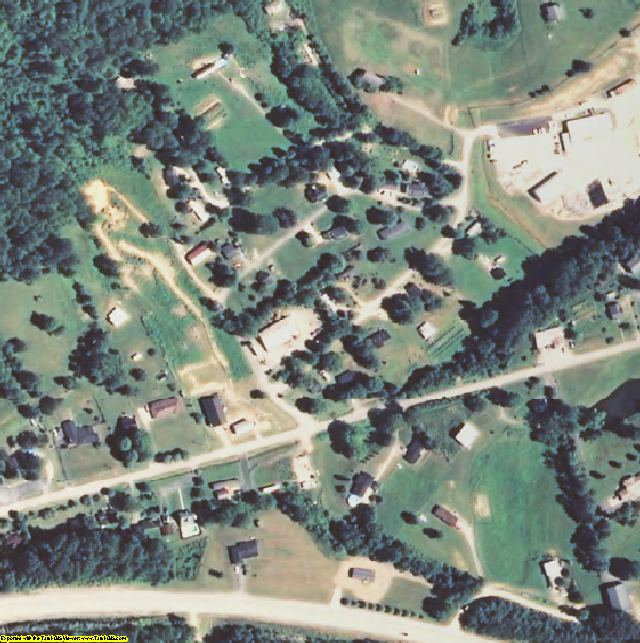 Owsley County, KY aerial photography detail