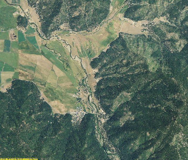 Plumas County, California aerial photography
