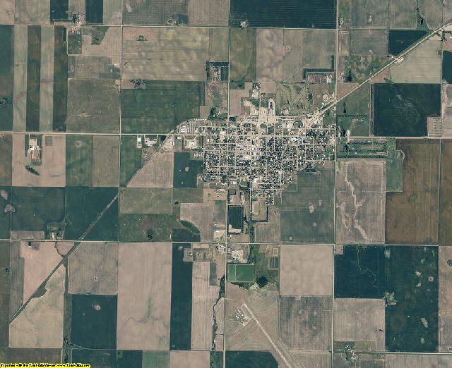 Potter County, South Dakota aerial photography