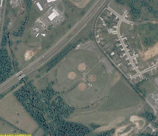 Rockingham County, VA aerial photography detail
